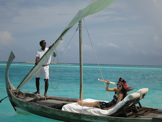 I Felt Like Robinson Crusoe While Staying In An Overwater Villa In The Maldives
