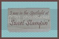 Spotlight at Sweet Stampin'