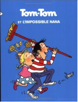 Couverture Tom-Tom et Nana, tome 01 : Tom-Tom et l'impossible Nana