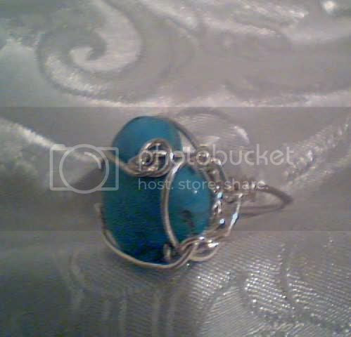 Leland blue stone jewelry photo: Bold and Blue anotherviewofblueturq.jpg