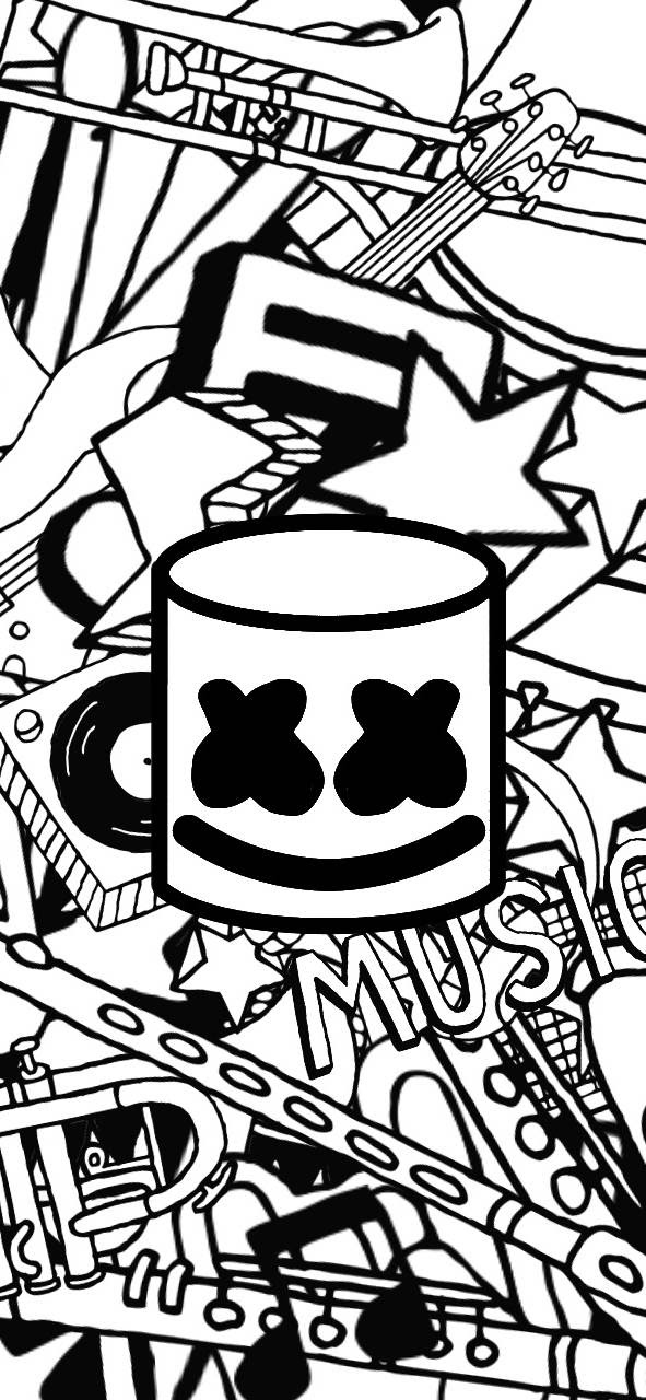 Marshmello Wallpapers Top Best 50 Marshmello Backgrounds