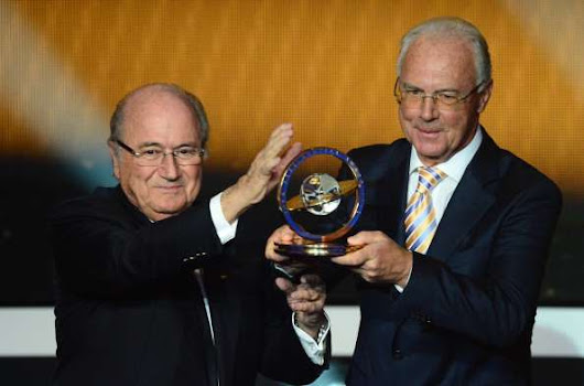 Beckenbauer banned from football