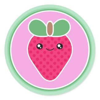Mega Kawaii Sweet Strawberry sticker