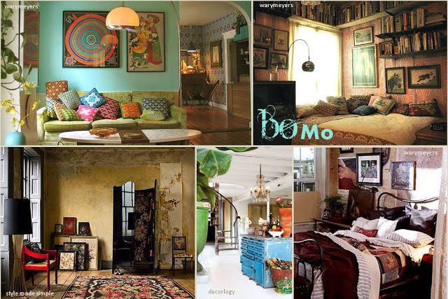 מיהפה: מגמות בעיצוב פנים ל-2011 - BOHO &BOMO