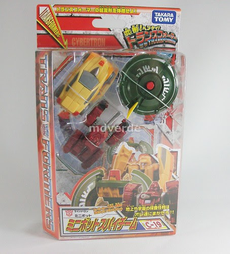 Transformers Minibot Spy Team Classics Henkei Legends - caja