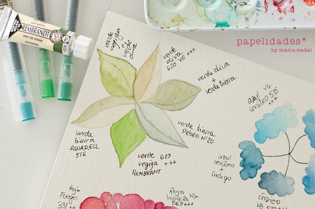 carta de colores PEQ-5