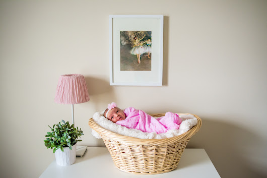 Purple Panda Studios |   Hailey C. Newborn Shoot