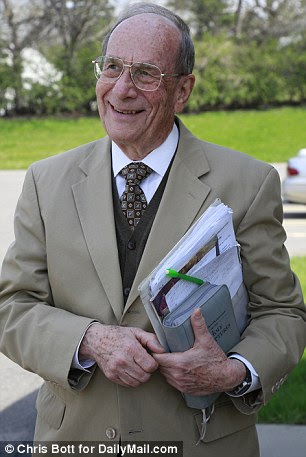 Elder George Cook (pictured), one of the nine elders of the small 90-person congregation, saidPrince regularly 'witnessed' alone in the community and in groups
