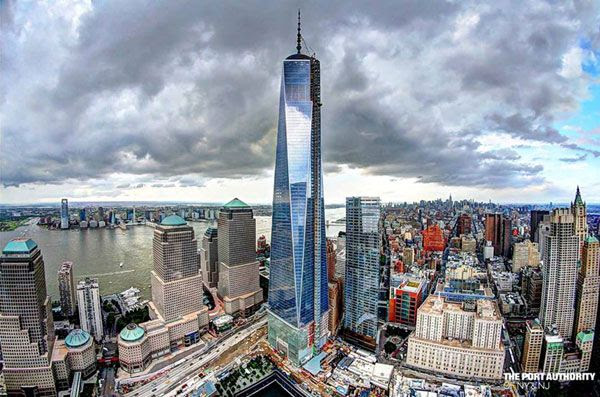 The 1 World Trade Center in New York City...as seen on July 18, 2013.