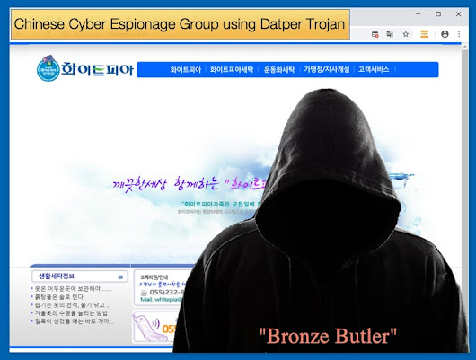 Chinese Cyber Espionage Group using Datper Trojan
