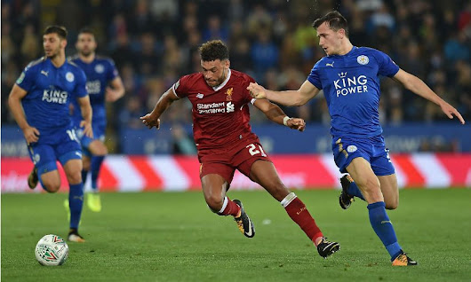 Liverpool eliminated from Carabao Cup at Leicester