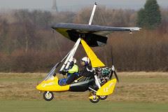 G-CDMU - 2005 build P & M Aviation Pegasus Quik, Barton based