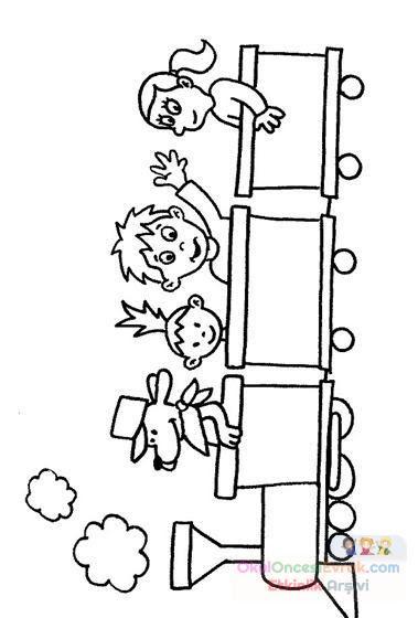 Ulaşım Araçları 83 Preschool Activity