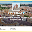 The Pope Sent Out His First Tweet