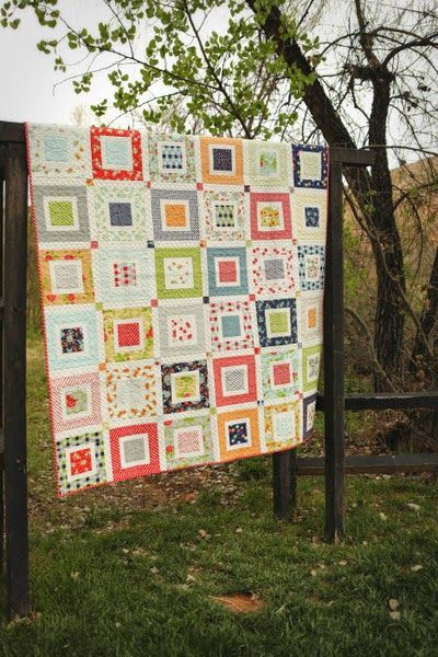 """""""Sassy"""" quilt from Fresh Family Traditions by Sherri McConnell of A Quilting Life - a quilt blog  Beautiful quilt photography by Korindi Photography"""