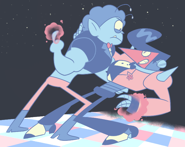 "The point with complementary colors still stands, folks (""Sylveon"" palette by torddkin.tumblr.com)"
