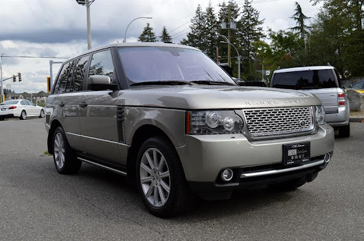 2011 Land Rover Range Rover HSE LUX SC - LOCAL / BOARDS Used for sale in Surrey at Cwl Auto