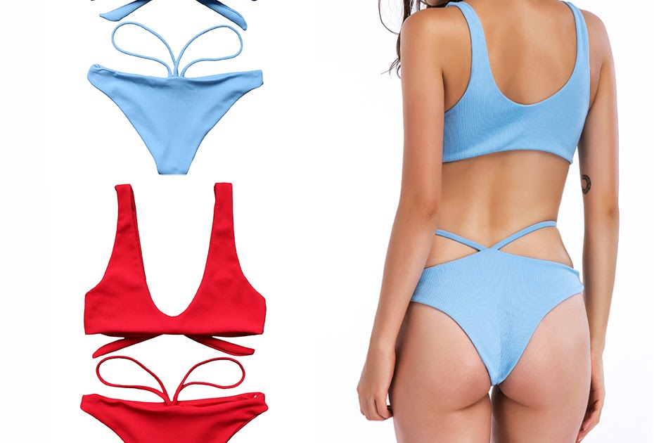 bc92ca650428c7 Beste Kopen Boog Knoop Sexy Bikini 2018 Badmode Vrouwen Braziliaanse Push  Up Badpak Bandage Biquini Set Micro Met Gewatteerde Goedkoop ~ reclusereg