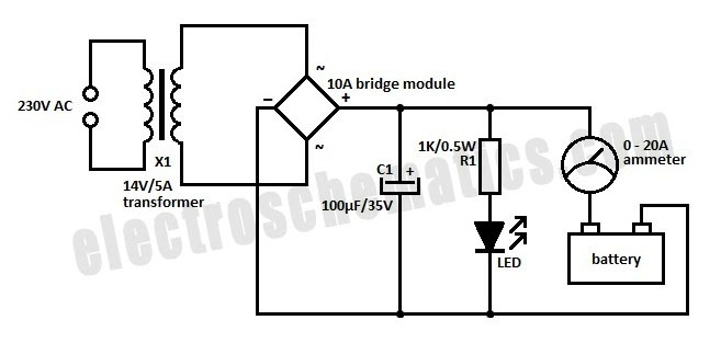 I'm Yahica: 12 Volt Battery Charger Circuit Diagram Pdf
