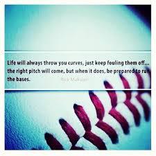 baseball quote on Tumblr