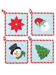 Sugar Cookie 2 Potholders Sewing Pattern