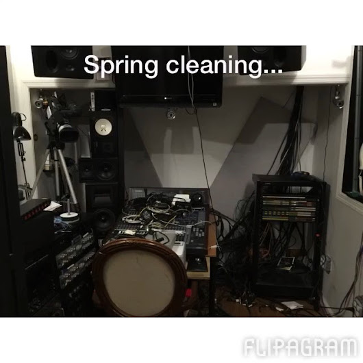 SoundworksRecNY — #SpringCleaning by #KamiloKratc  #flipagram made...