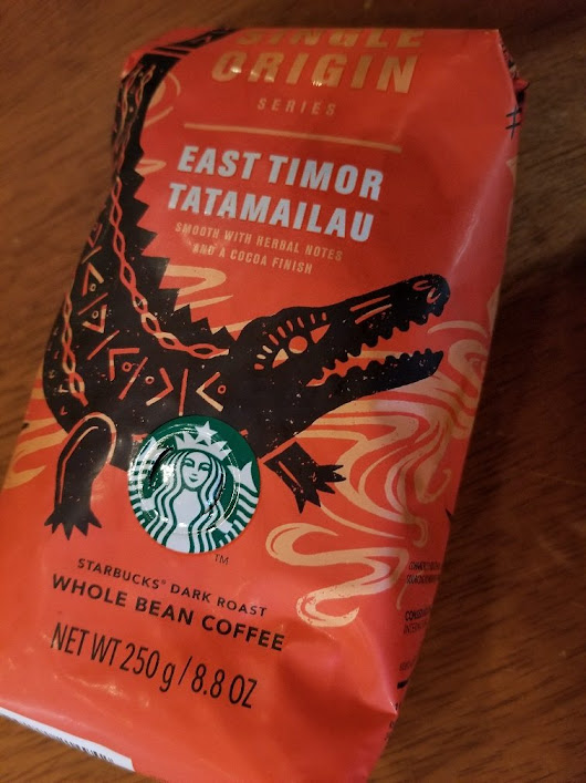 East Timor Tatamailau - Fair Trade Certified Coffee and delicious! - StarbucksMelody.com