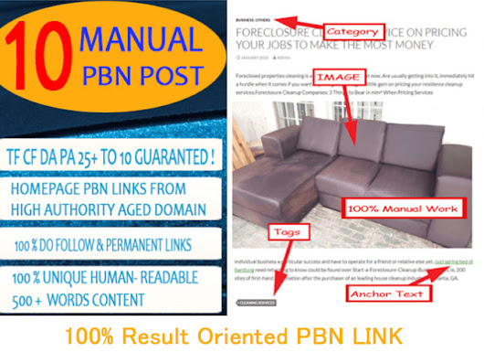 Give 10 Pbn Post With Contextual Backlinks Permanent Pbn for $19