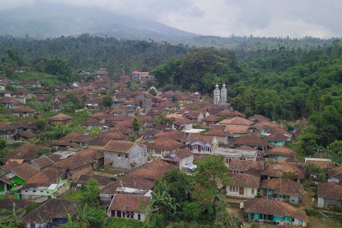 Ciburuy village in western Java.
