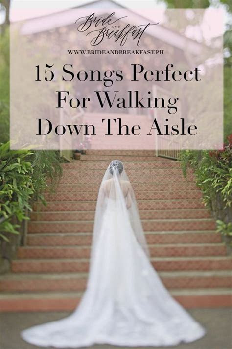 Songs Perfect For Walking Down The Aisle: Part 2   wedding