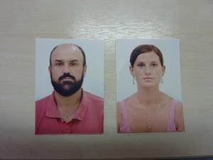 Segundo as investigações, casal estava no Brasil há 10 meses e tentava fugir para a Itália. (Foto: Divulgação/Polícia Federal)