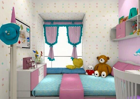 Kamar Tidur Anak Perempuan - Desain Rumah Minimalis