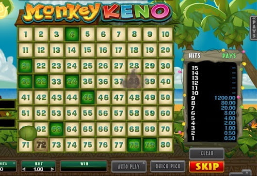 Keno Online - Best Casinos to Play Keno Online for Real Money!