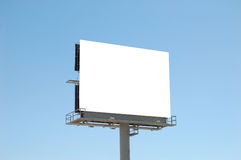Blank Square Billboard In NYC, Horizontal Composition Stock Photo ...