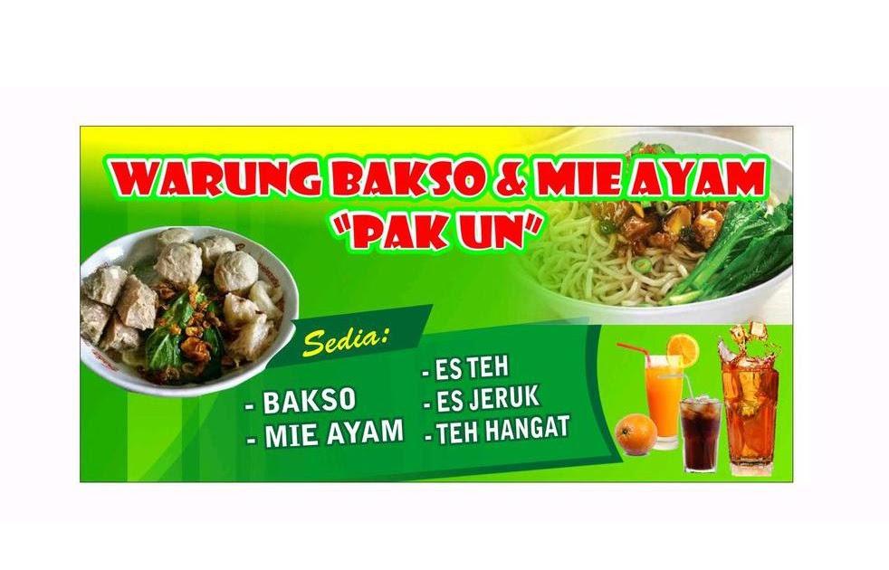 Contoh Spanduk Warung Bakso Banner Bakso - desain spanduk ...