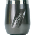 Port Insulated Stainless Steel Wine Tumbler and Whiskey Tumbler - 10 oz Grey Smoke