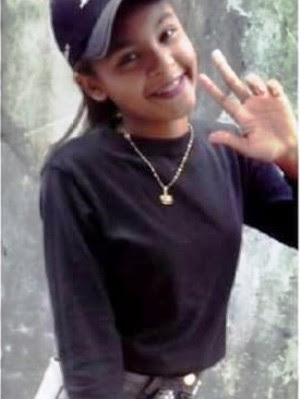 Adolescente saiu de casa no dia 28 de dezembro, em São Vicente  (Foto: Arquivo Pessoal)