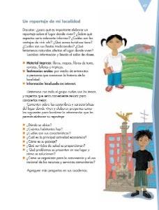 Ejemplos De Reportajes Para Niños De 6 Grado Actividad Del Niño