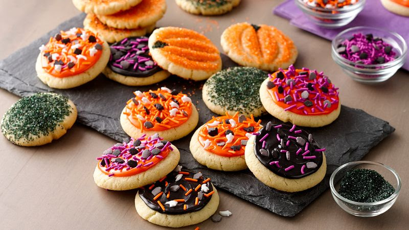 Easy Halloween Cookies recipe from Betty Crocker