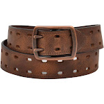 3D Belt D7532-36 1.50 in. Brown Leather Casual Belt - Size 36