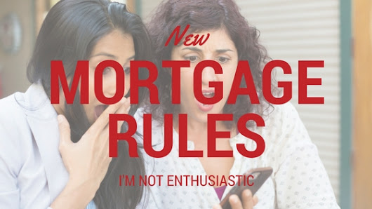 Canadian Mortgage Rule Changes August 2016 - Winners and Losers | First Foundation