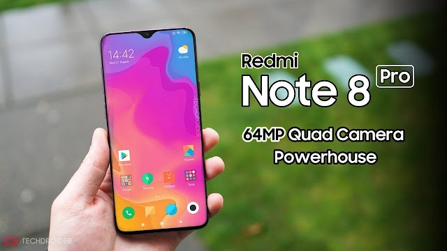 Redmi Note 8 Pro launch in India set for October 16th 2019