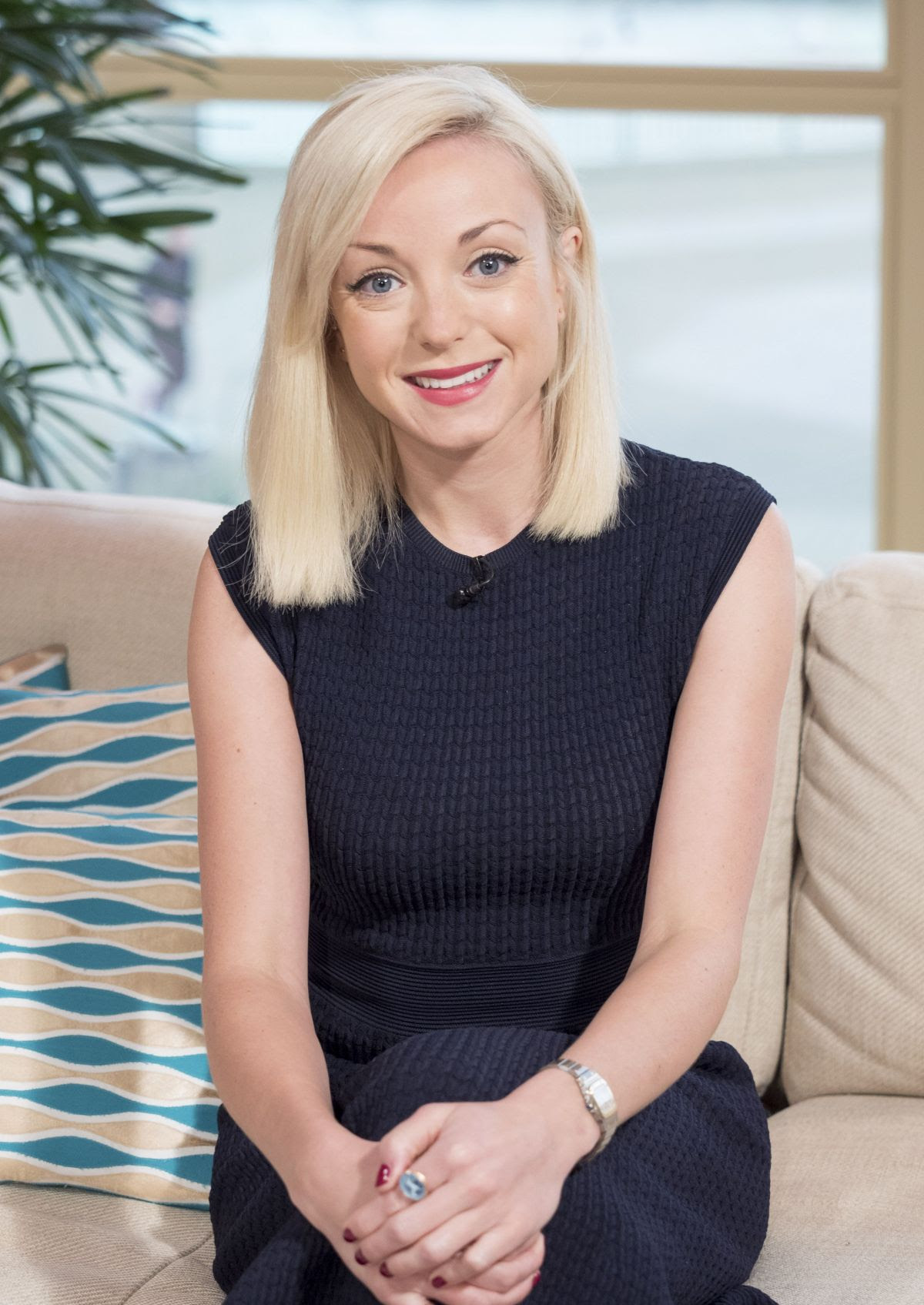 HELEN GEORGE at This Morning TV Programme 01/18/2016