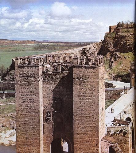 Puente de Alcántara (Toledo) en los años 60