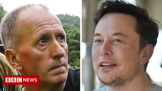 Elon Musk sued for libel by British Thai cave rescuer - BBC News