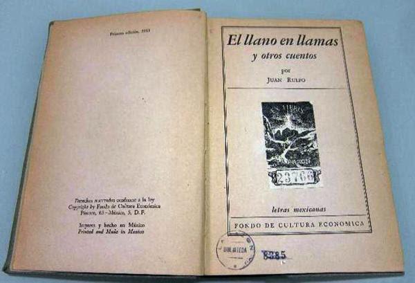 """""""El llano en llamas"""" se publicó por primera vez en 1953"""