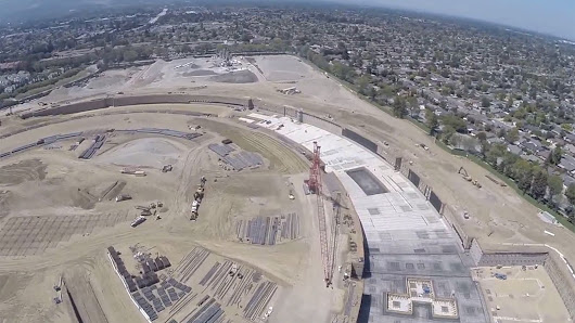 Apple's new spaceship is looking more like a landing site