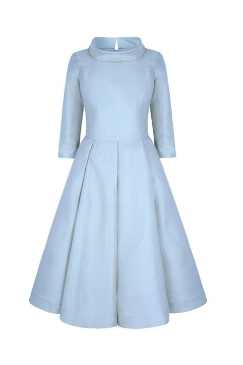 elbow sleeve  midi obsession dress cinderella blue