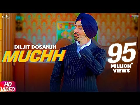 Diljit Dosanjh - Muchh (Official Song) Download New Punjabi Songs 2019