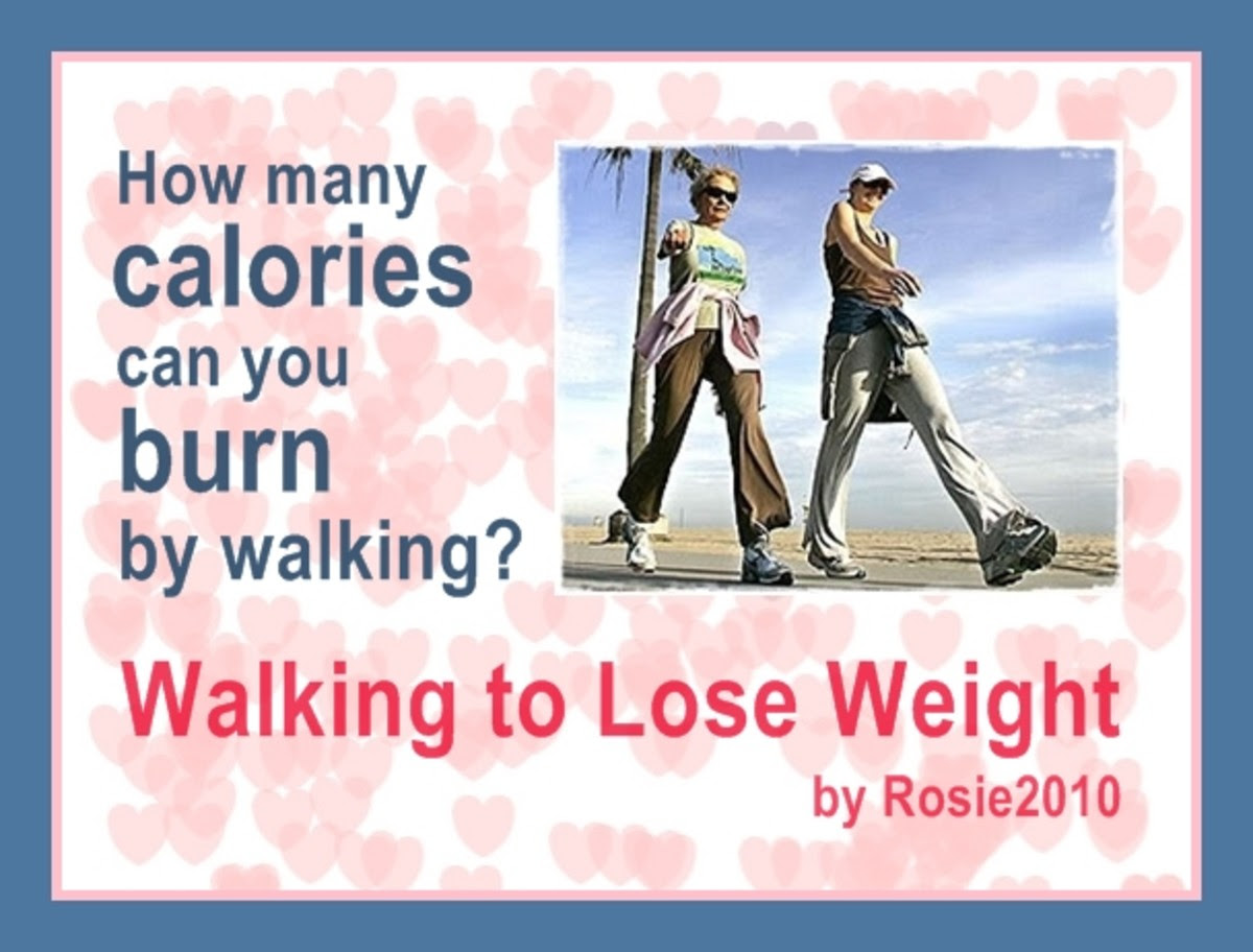 Walking to Lose Weight - How many calories can you burn by ...